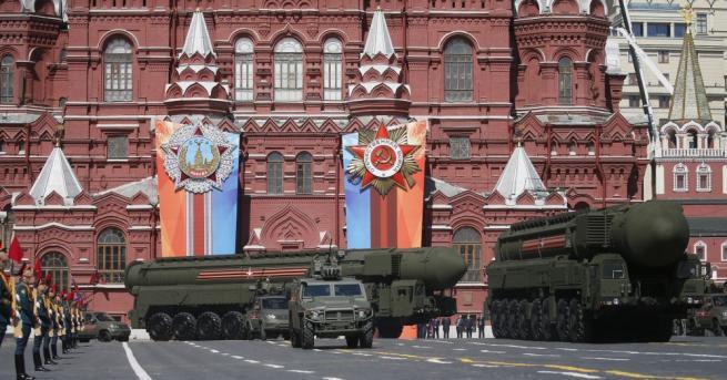Руският държавен лидер и върховен главнокомандващ въоръжените сили Владимир Путин