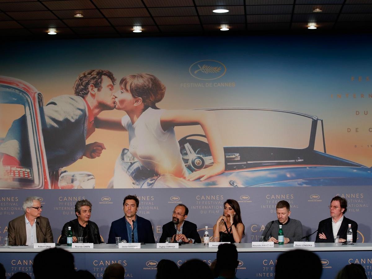 "Пенелопе Крус и Хавиер Бардем на пресконференцията на ""Everybody knows"""