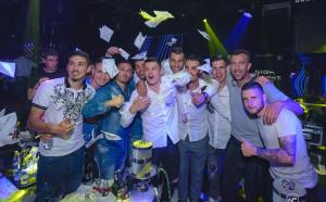 Славия поля Купата с мощно парти в столичен клуб