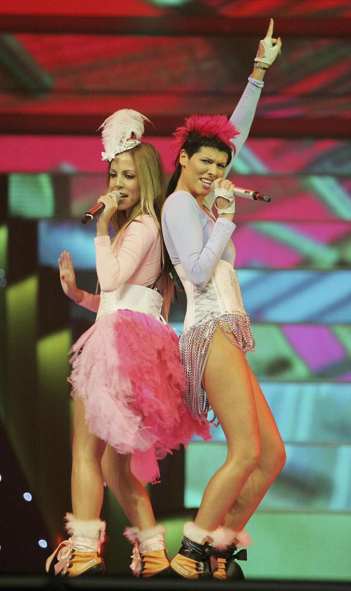 """ГрупатаNonstop (""""Нонстоп"""") представи Португалия на """"Евровизия"""" в Атина, 2006 г."""