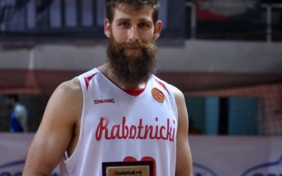 Баскетболен национал с приз за номер 1 в Македония