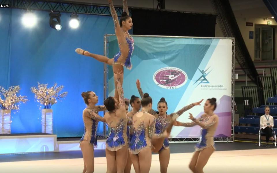 Шесто и осмо място за българките на ЕП по Естетическа гимнастика