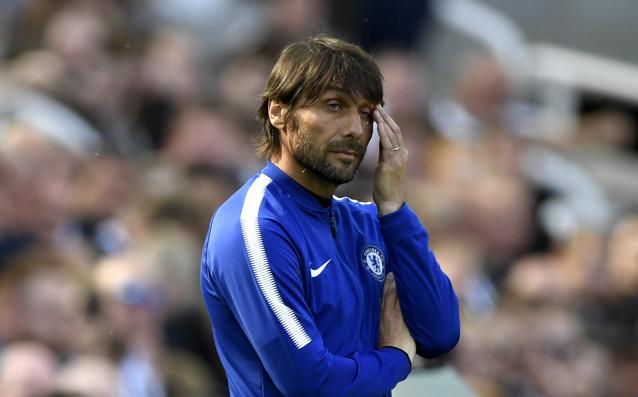 Мениджърът на Челси Антонио Конте беше в мрачно настроение след
