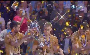 Зенит вдигна трофея в Шампионската лига