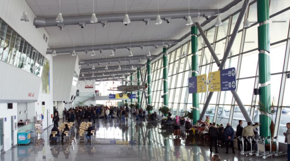 Сигнал за бомба затвори летище Пловдив