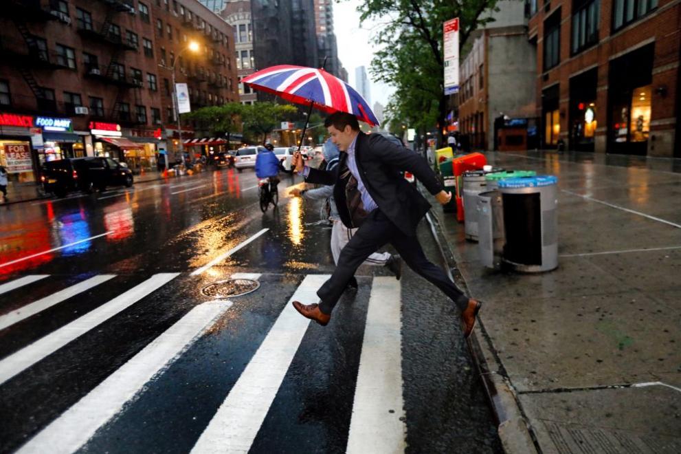 САЩ дъжд буря