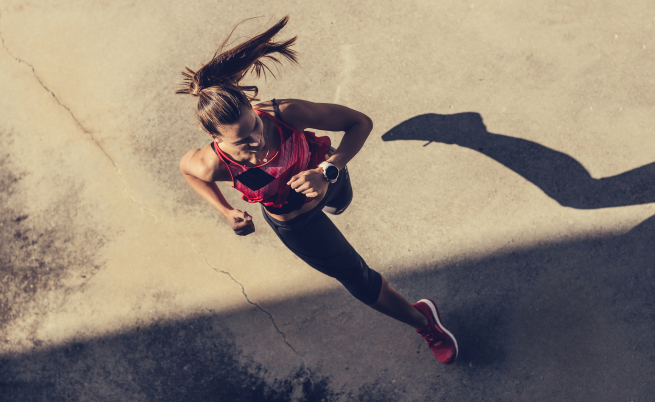 Какъв е резултатът след 30 минути тичане всеки ден