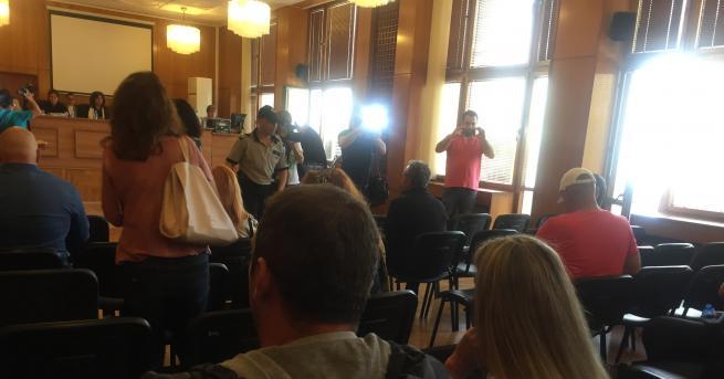 Снимка: Драматични показания за атентата в Сарафово