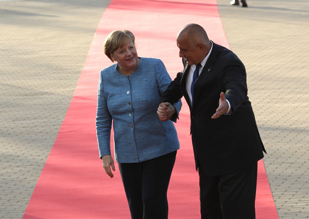 Бойко Борисов и германският канцлер Ангела Меркел