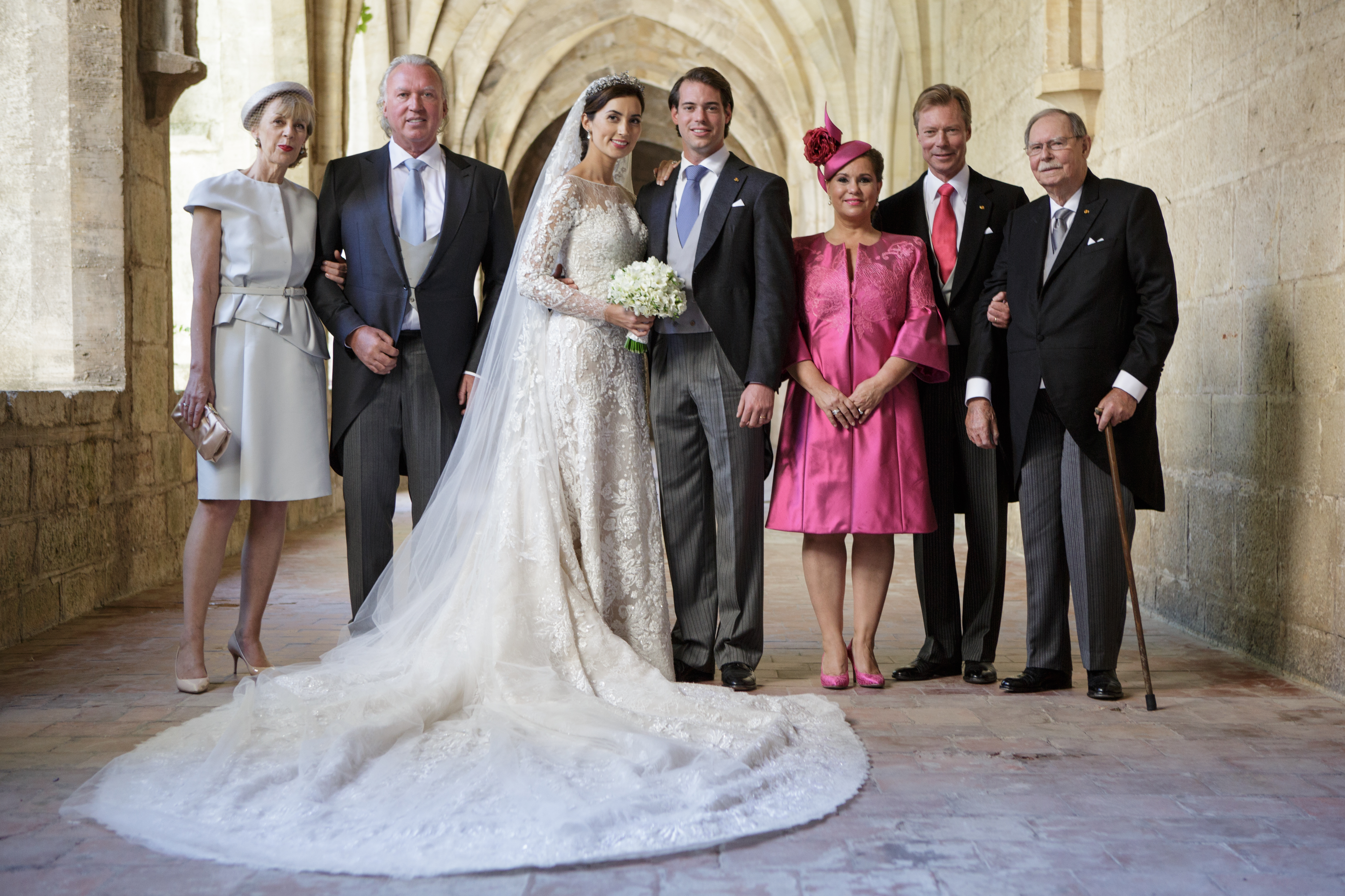 Принцът на Люксембург Феликс и принцеса Клер се венчаха през 2013 г.