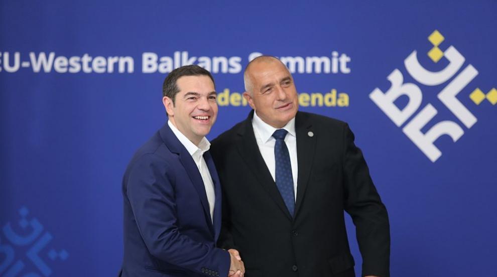 Борисов и Ципрас дават старт на строежа на газовата връзка