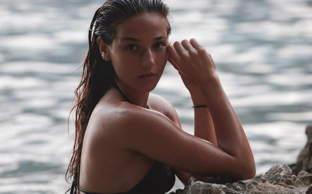 Шеметно красива и много умна - жената до Бернардо Силва