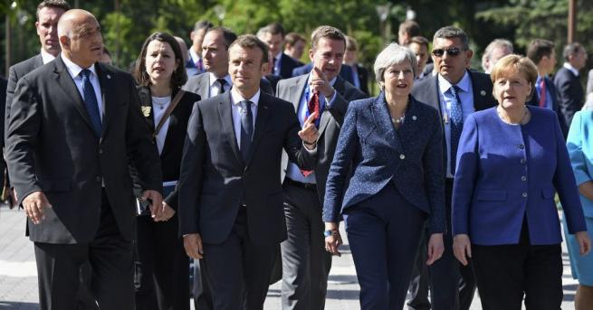 Лидерите на ЕС на срещата си в София се обединиха