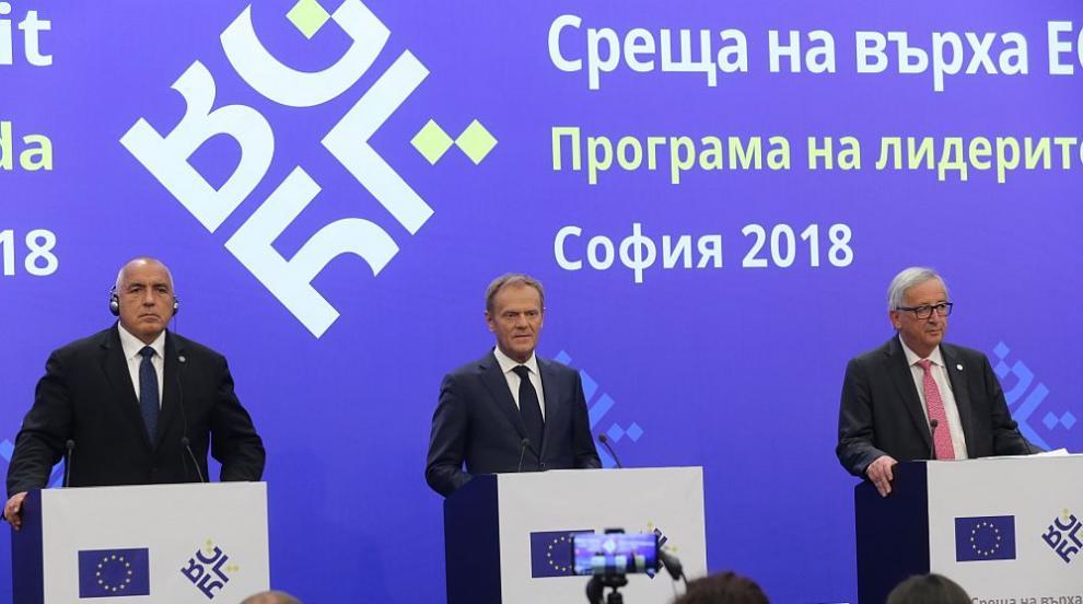 Борисов: Единственото спасение на ЕС е да бъдем единни