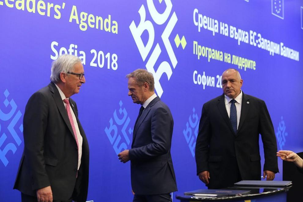 Бойко Борисов среща на върха