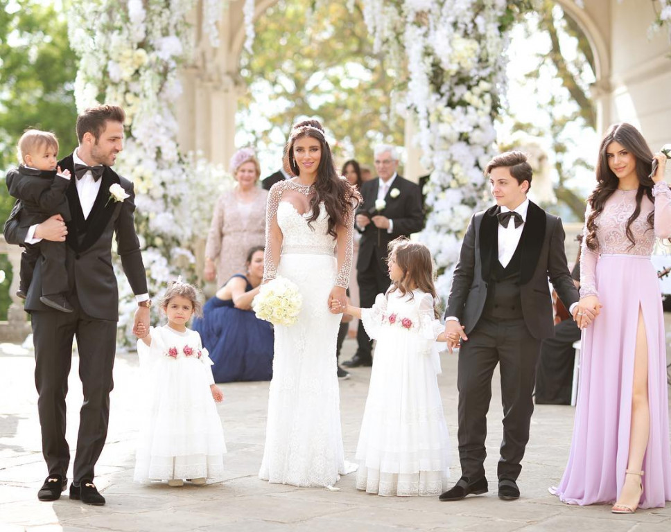 Сватбата на Сеск Фабрегас<strong> източник: www.instagram.com/daniellasemaan</strong>