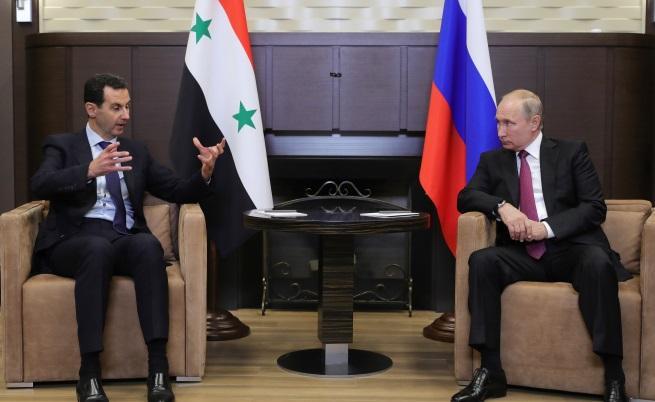 Башар Асад в Русия, какво поиска Путин от него