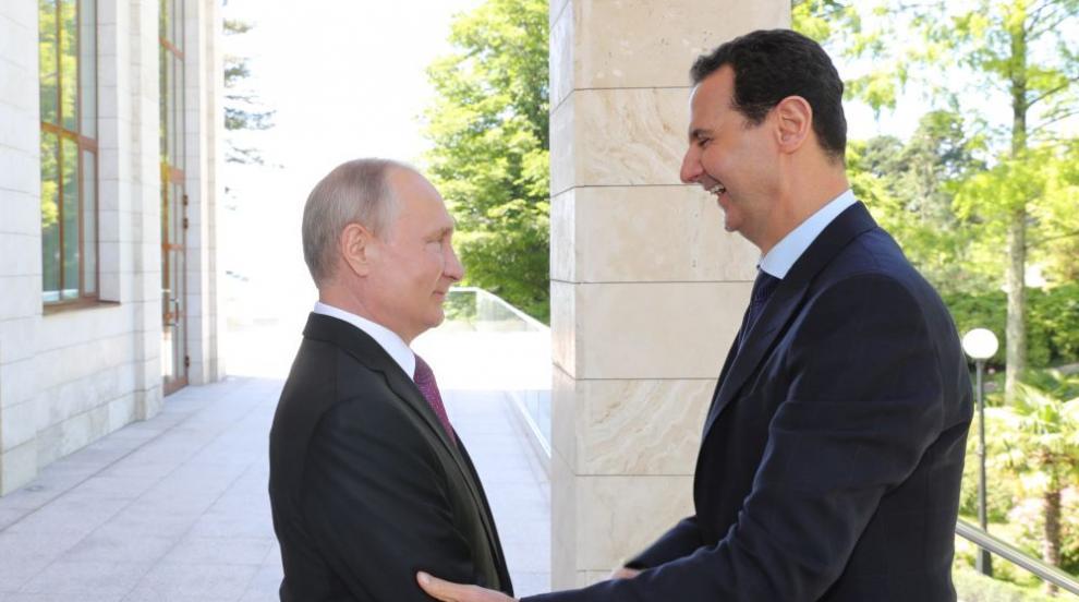 Владимир Путин и Башар Асад разговаряха в Сочи