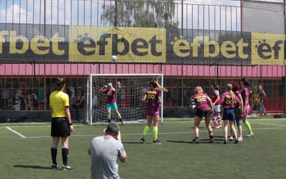 Благотворителен турнир по футбол за дами се превърна в истински празник