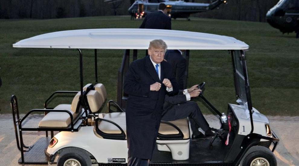 Мъж стреля в голфклуб на Тръмп (ВИДЕО)