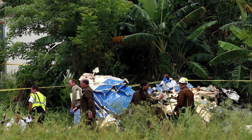 Жертвите в авиокатастрофата в Куба се увеличиха