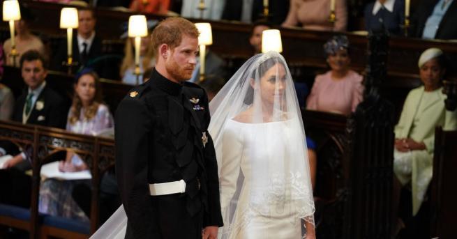 Британският принц Хари и американската актриса Меган Маркъл се вричат