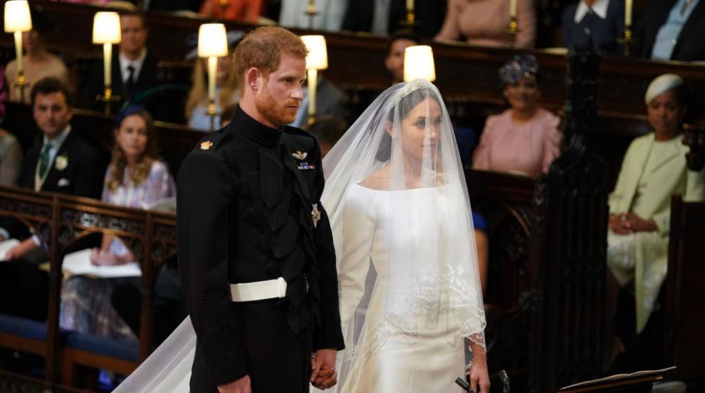 """На живо сватбата на годината: Принц Хари и Меган си казаха """"Да""""..."""