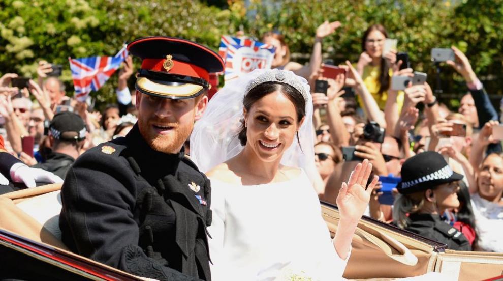 Американците също празнуват заради британската кралска сватба