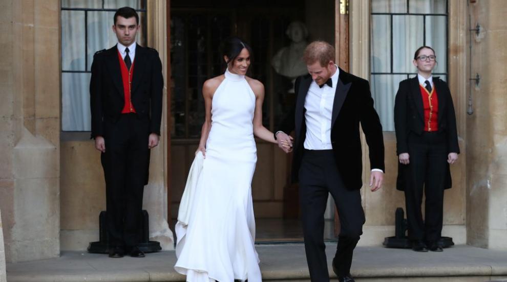 Първият ден на принц Хари и Меган като съпруг и съпруга (СНИМКИ)