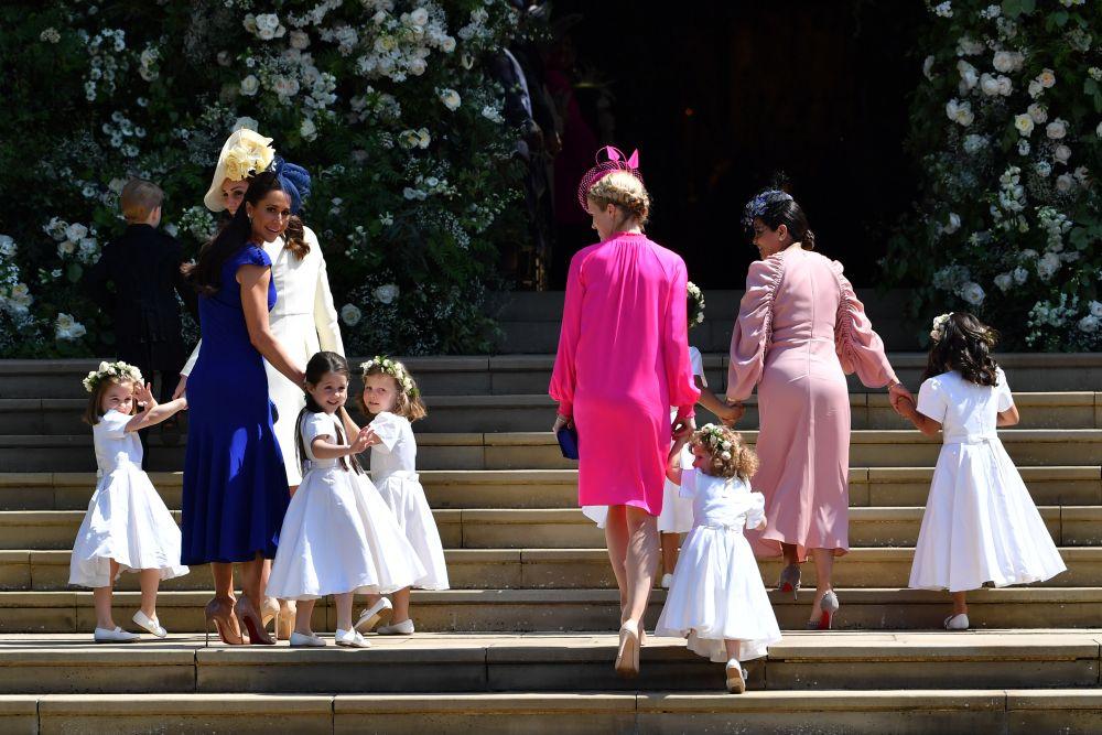 Очарователните малки шафери на сватбата на принц Хари и Меган Маркъл
