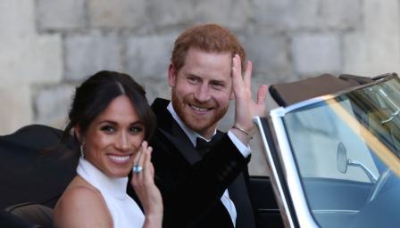 Принц Хари подари на Меган пръстен на лейди Даяна (СНИМКА)