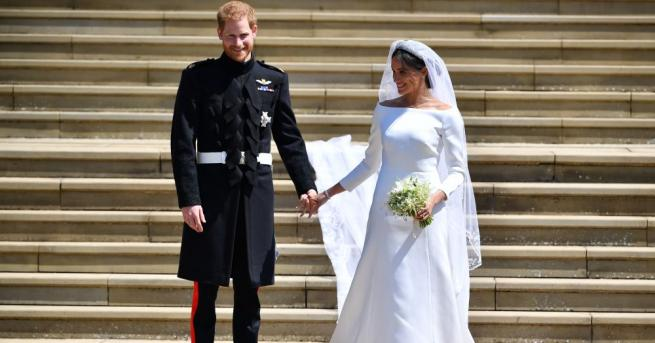 Сватбата на принц Хари и Меган Маркъл приключи с фойерверки
