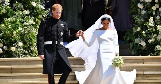 Британското кралско семейство благодари на всички, празнували или гледали сватбата