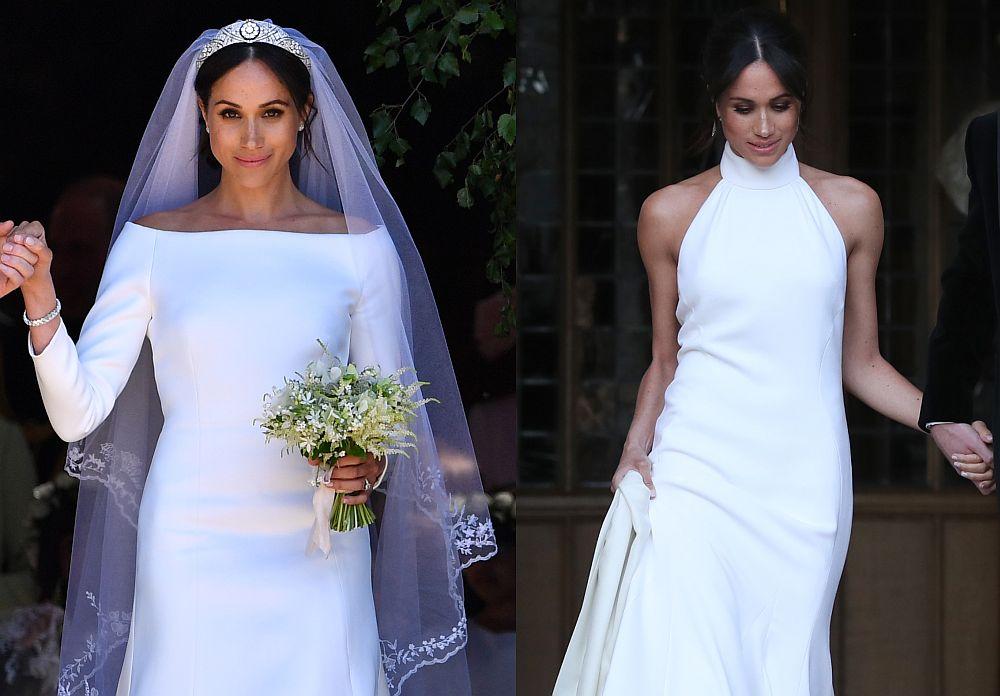 Меган Маркъл изглеждаше зашеметяващо и в двете рокли, които избра за сватбения си ден.