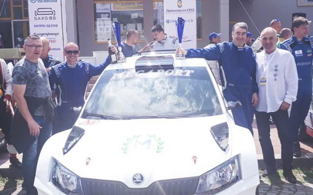 """Екипажът на """"Мегапорт"""" Мирослав Ангелов и Недялко Сивов спечелихарали-спринта в"""