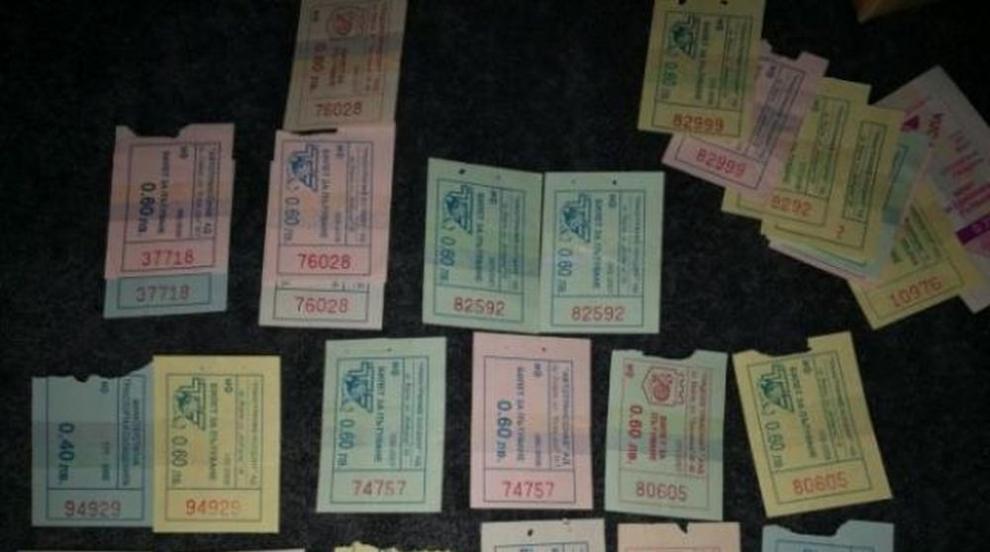 Колекционер от Варна събра 21 000 билети за градски транспорт (СНИМКИ)