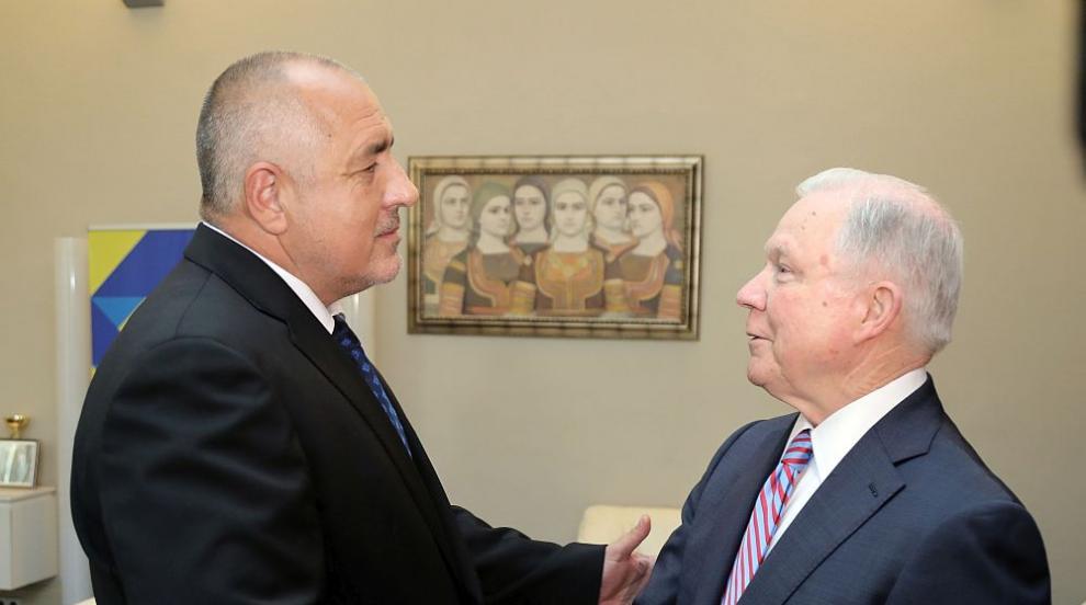 """Борисов постави казуса """"Желяз Андреев"""" пред правосъдния министър на САЩ"""