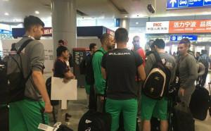 Волейболните национали пристигнаха в Китай след 15 часа път