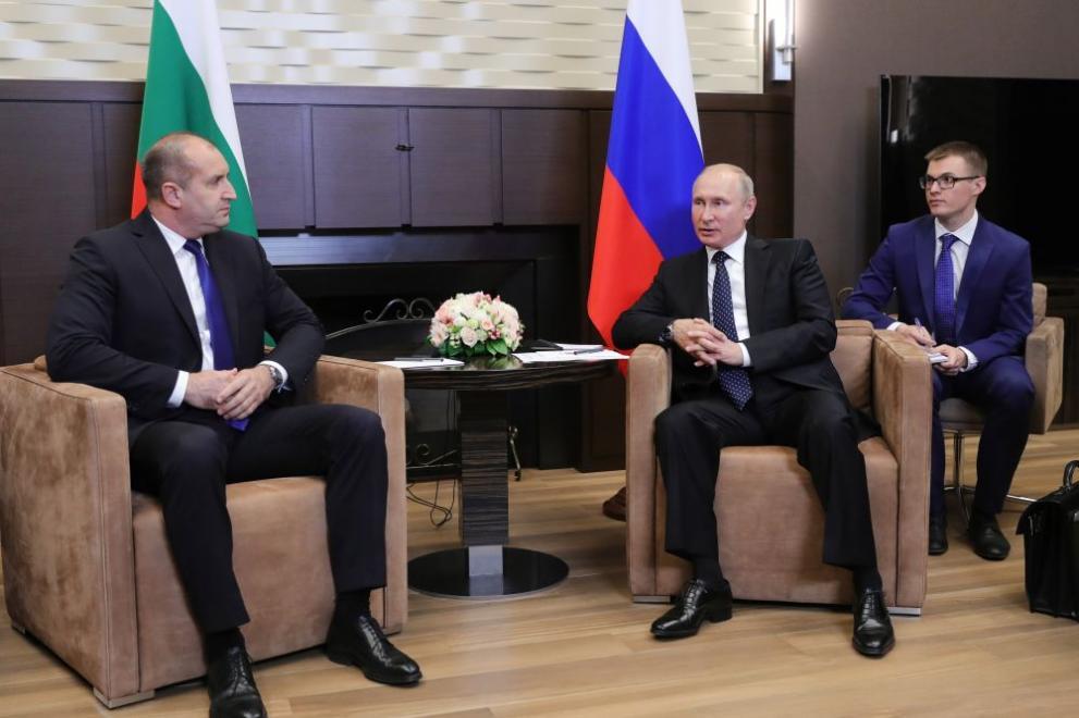 Путин и Радев