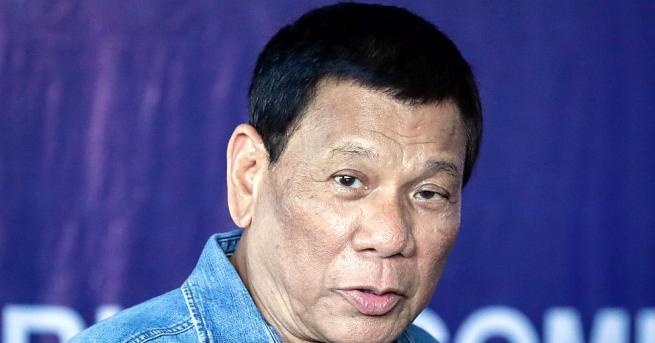 Филипинският президент Родриго Дутерте каза на заподозрените в незаконна търговия