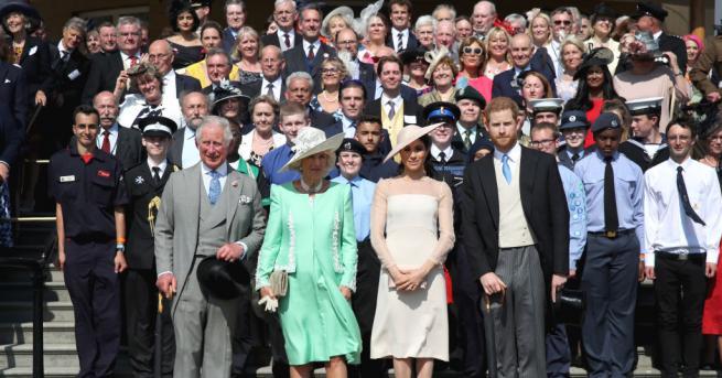 Принц Хари и неговата съпруга Меган направиха своята първа официална