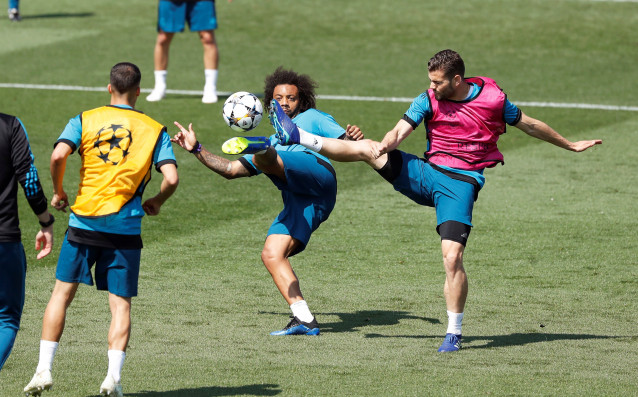 Защитникът на Реал Мадрид Марсело, в навечерието на финала в