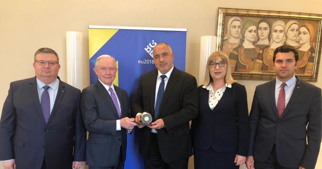 Премиерът Бойко Борисов се срещна с министъра на правосъдието и
