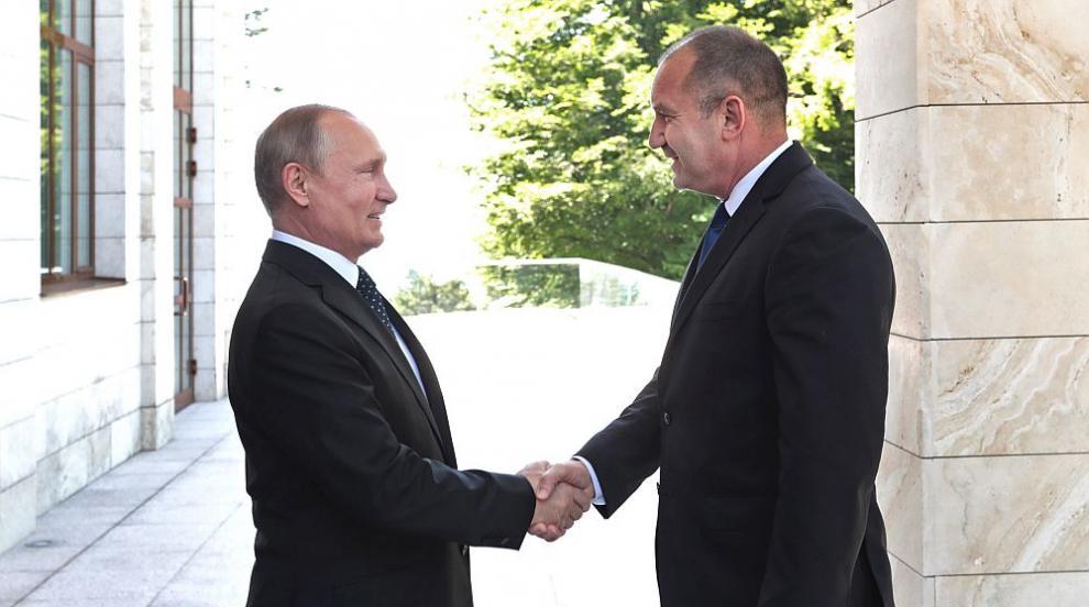 """""""Росийская газета"""": Путин и Радев решиха да възстановят диалога между..."""