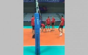 Волейболните национали с първа тренировка в Нинбо