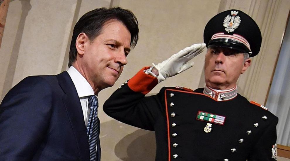 Джузепе Конте е новият италиански премиер