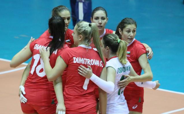 Женският национален отбор по волейбол продължи с отличното си представяне
