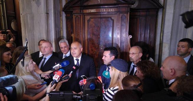 Министър-председателят Бойко Борисов и водената от него официална делегация участваха