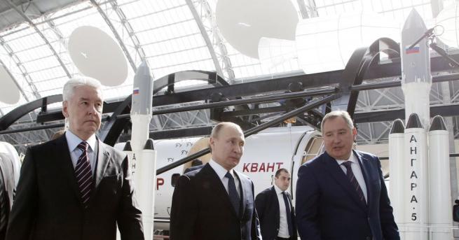 Руският президент Владимир Путин назначи бившия вицепремиер Дмитрий Рогозин за