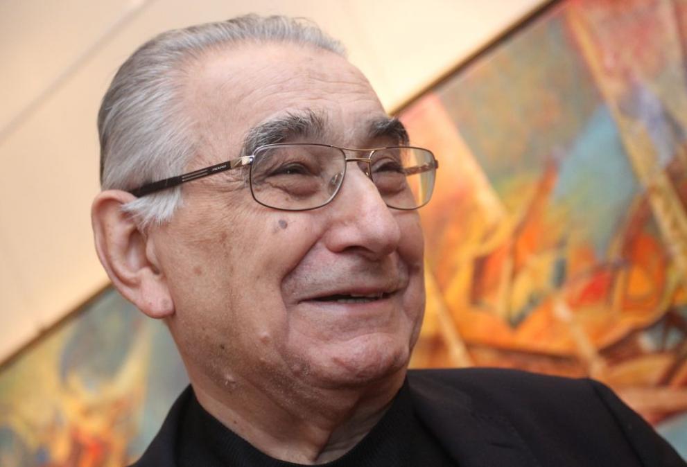 На 84-годишна възраст почина големият български художник и общественик Светлин Русев
